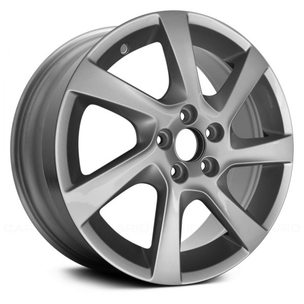 "Replace® - 17"" Remanufactured 7 Spokes All Painted Silver Metallic Factory Alloy Wheel"