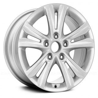 2014 hyundai sonata replacement factory wheels rims carid Hyundai Cars replace 16x6 5 5 double spoke alloy factory wheel