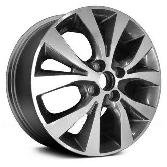 Hyundai Accent 2015 Rims >> 2015 Hyundai Accent Replacement Factory Wheels Rims Carid Com