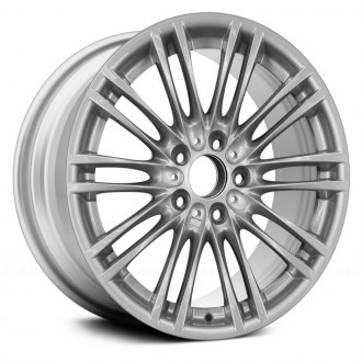 "Replace® - 18"" Remanufactured 10 Double Spokes All Painted Silver Metallic Factory Alloy Wheel"