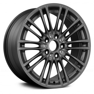 "Replace® - 18"" Remanufactured 10 Double Spokes All Painted Charcoal Gray Factory Alloy Wheel"