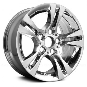 "Replace® - 16"" Remanufactured 5 Double Spokes Chrome Factory Alloy Wheel"