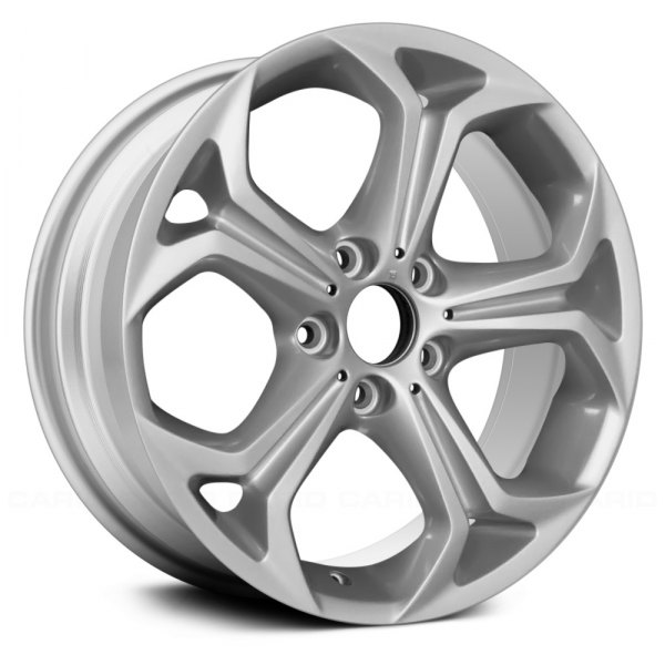 "Replace® - 18"" Remanufactured 5 Spokes Painted Sparkle Silver Factory Alloy Wheel"