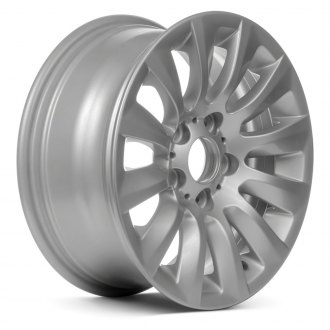"Replace® - 16"" Remanufactured 12 Spokes All Painted Silver Factory Alloy Wheel"