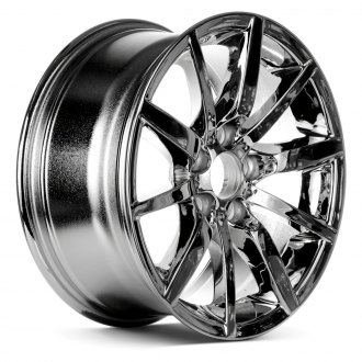 "Replace® - 17"" Remanufactured 10 Spokes Chrome Factory Alloy Wheel"