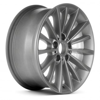 "Replace® - 17"" Remanufactured 15 Spokes Painted Sparkle Silver Factory Alloy Wheel"