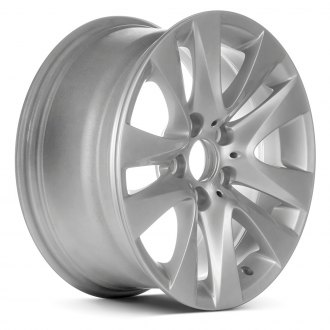 "Replace® - 17"" Remanufactured 10 Spokes All Painted Silver Metallic Factory Alloy Wheel"