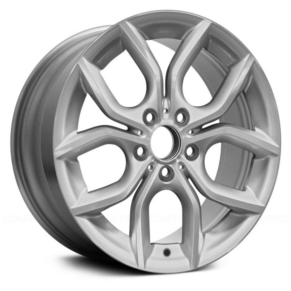 "Replace® - 18"" Remanufactured 5 Y Spokes Machined and Bright Silver Factory Alloy Wheel"