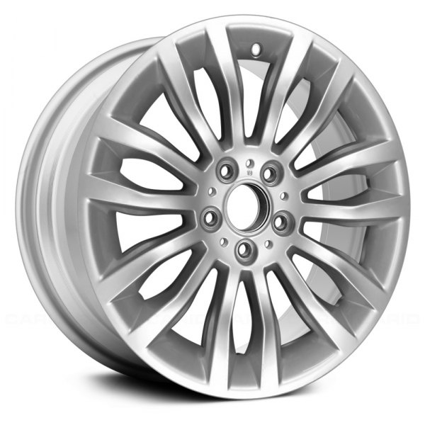 "Replace® - 18"" Remanufactured 14 Spokes All Painted Sparkle Silver Factory Alloy Wheel"