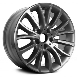 "Replace® - 18"" Remanufactured 15 Spokes Machined and Bright Silver Factory Alloy Wheel"