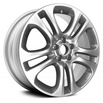 "Replace® - 19"" Remanufactured 5 Double Spokes Silver Factory Alloy Wheel"