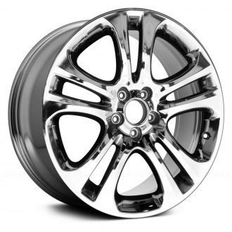 "Replace® - 19"" Remanufactured 5 Double Spokes Chrome Factory Alloy Wheel"