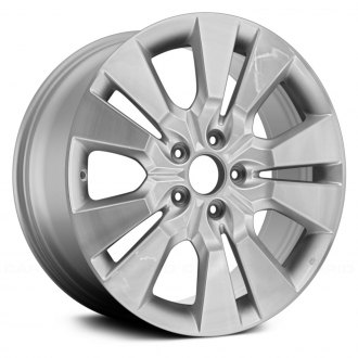 "Replace® - 18"" Remanufactured 5 Double Spokes High Gloss Argent Factory Alloy Wheel"