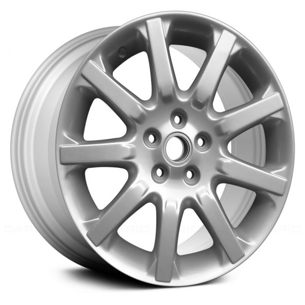 "Replace® - 17"" Remanufactured 9 Spokes All Painted Silver Factory Alloy Wheel"