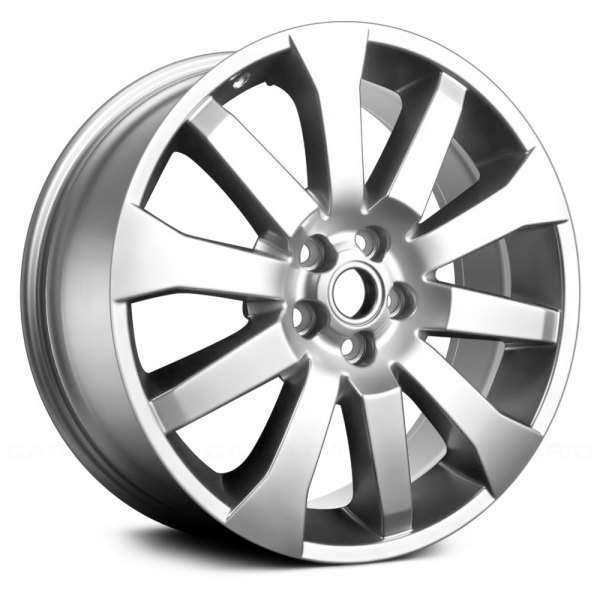 "Replace® - 19"" Remanufactured 10 Spokes Hyper Silver Factory Alloy Wheel"