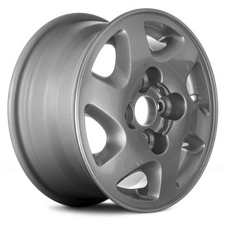 Replace® - 14x6 6-Slot Argent Alloy Factory Wheel (Remanufactured)