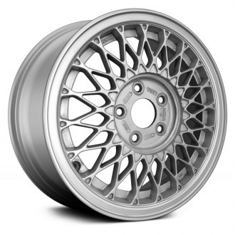 Replace® - 15x6.5 20-Spoke Machined Lip Silver Face Alloy Factory Wheel (Remanufactured)