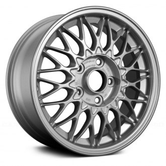 Replace® - 15x6.5 Diamond Design Silver Spokes with Machined Lip Alloy Factory Wheel (Remanufactured)