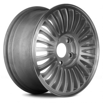 "Replace® - 15"" Remanufactured 5 Spokes Machined with Silver Vents Factory Alloy Wheel"
