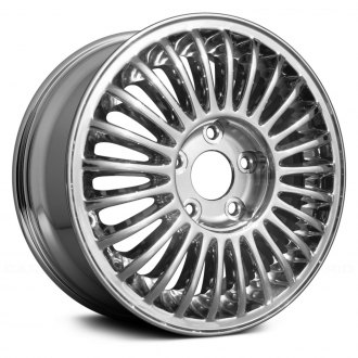 "Replace® - 15"" Remanufactured 25 Spokes Chrome Factory Alloy Wheel"