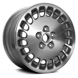 Replace® - 16x7 20-Slot Machined with Silver Vents Alloy Factory Wheel (Remanufactured)