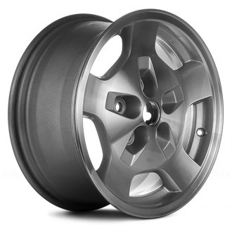 Replace® - 16x7 5-Spoke Silver Alloy Factory Wheel (Remanufactured)