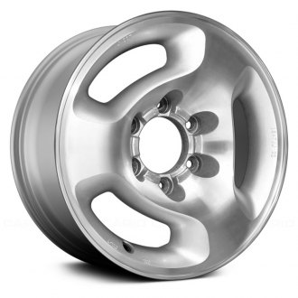 Replace® - 16x7 3-Slot Machined with Silver Vents Alloy Factory Wheel (Remanufactured)