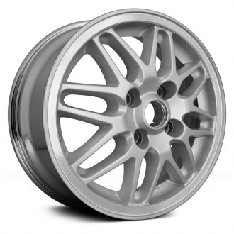 "Replace® - 15"" Remanufactured 16 Spokes Chrome Factory Alloy Wheel"