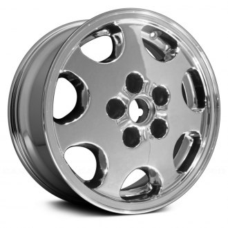 "Replace® - 15"" Remanufactured 7 Spokes Chrome Factory Alloy Wheel"