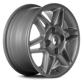 Replace® - 15x6 12-Spoke All Painted Silver Alloy Factory Wheel (Remanufactured)
