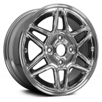 Replace® - 15x6 12-Spoke Chrome Alloy Factory Wheel (Remanufactured)