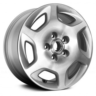 Replace® - 16x6.5 6-Spoke Bright Sparkle Silver Alloy Factory Wheel (Remanufactured)