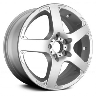 Replace® - 17x7 5-Spoke Silver Alloy Factory Wheel (Remanufactured)