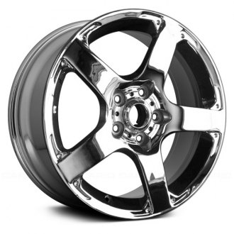 Replace® - 17x7 5-Spoke Chrome Alloy Factory Wheel (Remanufactured)