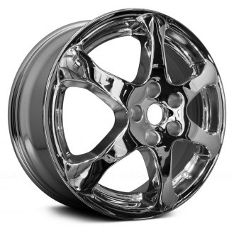 Replace® - 17x7 6-Spoke Chrome Alloy Factory Wheel (Remanufactured)