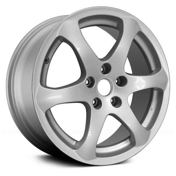 "Replace® - 17"" Remanufactured Front 6 Spokes Silver Factory Alloy Wheel"
