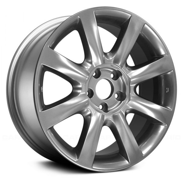 "Replace® - 17"" Remanufactured 8 Spokes Hyper Silver Factory Alloy Wheel"