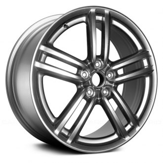 "Replace® - 19"" Remanufactured 5 Spokes Hyper Silver Factory Alloy Wheel"