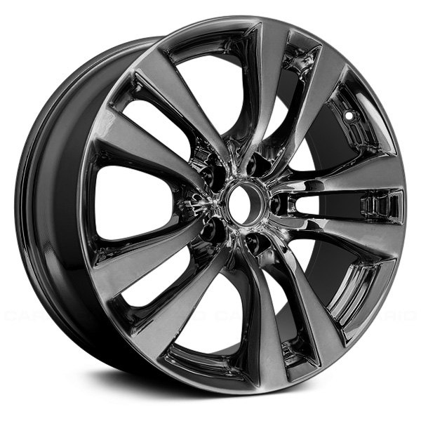 "Replace® - 18"" Remanufactured 10 Spokes Dark PVD Chrome Factory Alloy Wheel"