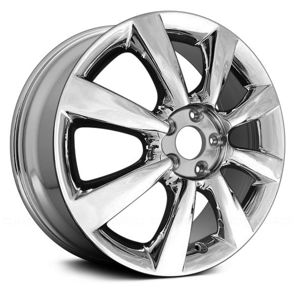 "Replace® - 18"" Remanufactured 8 Spokes Light PVD Chrome Factory Alloy Wheel"