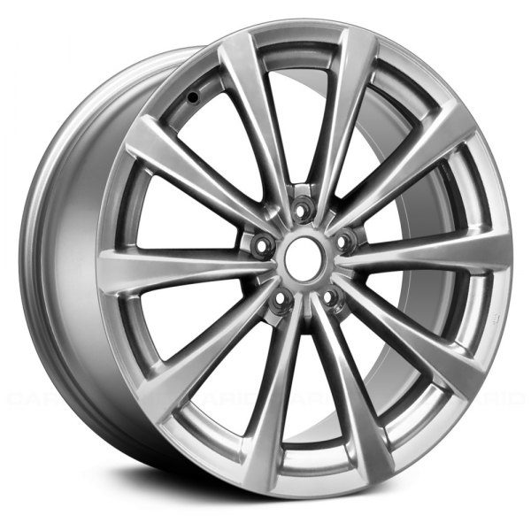 Replace® - 19 x 8.5 10-Spoke Hyper Silver Alloy Factory Wheel (Remanufactured)