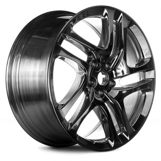 "Replace® - 20"" Remanufactured 5 Double Spokes Full Polished Factory Alloy Wheel"