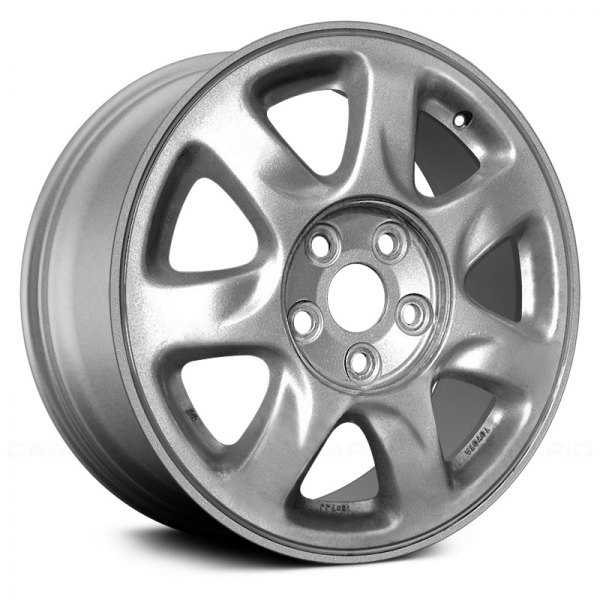 "Replace® - 16"" Remanufactured 7 Slots Silver Factory Alloy Wheel"