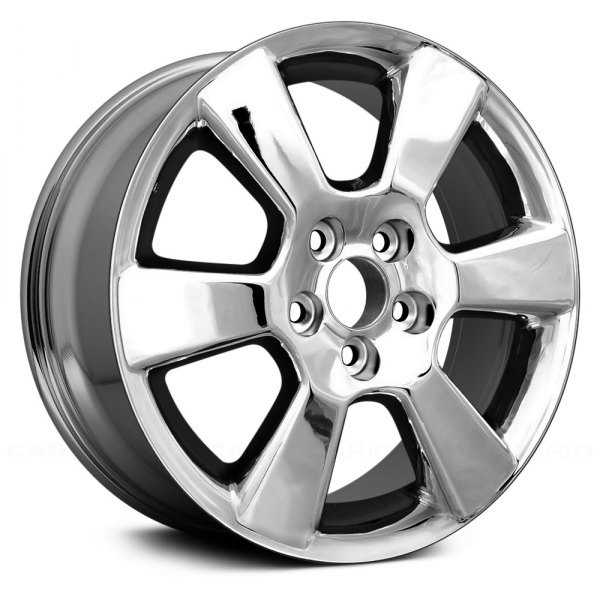 "Replace® - 17"" Remanufactured 6 Spokes Chrome Factory Alloy Wheel"
