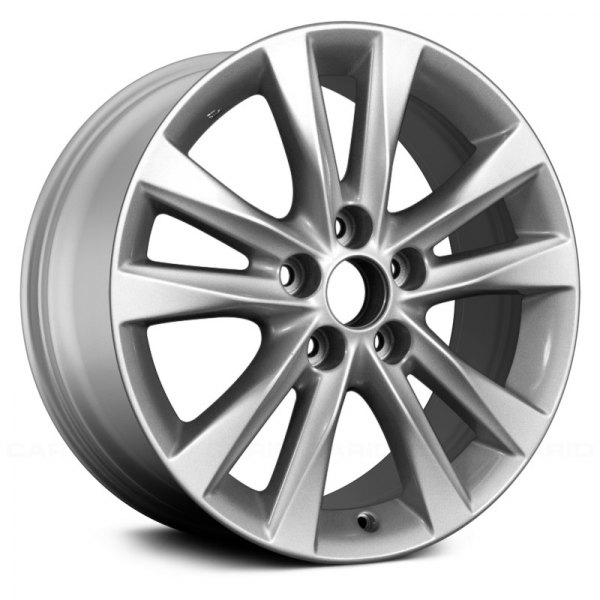 "Replace® - 17"" Remanufactured 5 Twin Spokes Silver Factory Alloy Wheel"