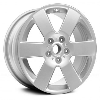 "Replace® - 17"" Remanufactured 6 Spokes All Painted Silver Factory Alloy Wheel"