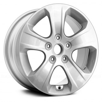 "Replace® - 16"" Remanufactured 5 Spokes Silver Factory Alloy Wheel"