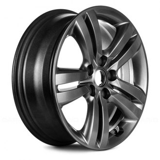 "Replace® - 17"" Remanufactured 10 Spokes Hyper Silver Factory Alloy Wheel"