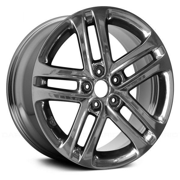 "Replace® - 18"" Remanufactured 5 Double Spokes Light PVD Chrome Factory Alloy Wheel"