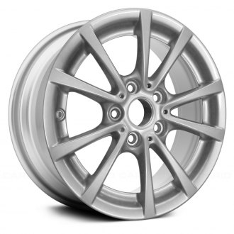 "Replace® - 16"" Remanufactured 5 Double Spokes All Painted Silver Factory Alloy Wheel"